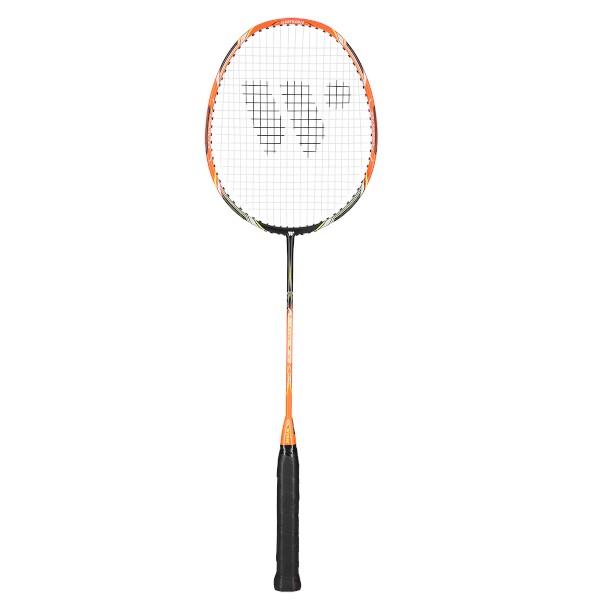 Badmintonová raketa WISH Fusiontec 973 oranžovo-černá