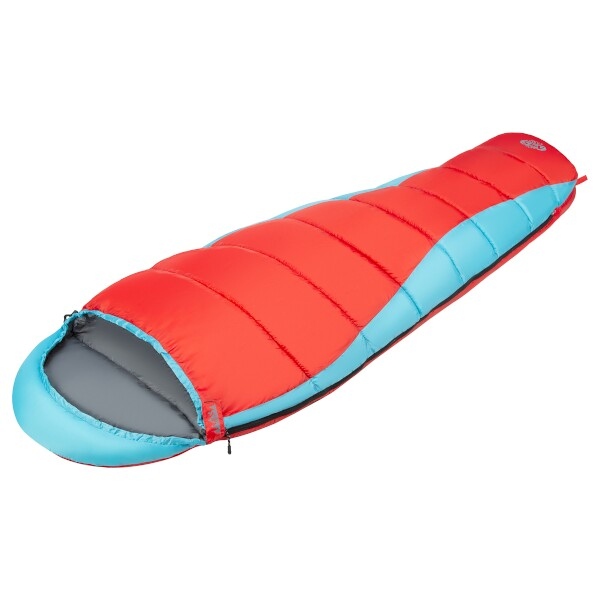 Spací pytel NILS Camp NC2012 červený/modrý