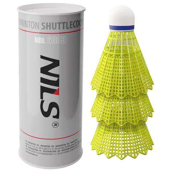 Badmintonové míčky NILS NBL6303 3 ks