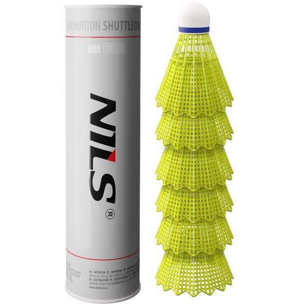 Badmintonové míčky NILS NBL6306 6 ks