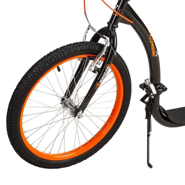 Skládací koloběžka NILS Extreme WH227F oranžová