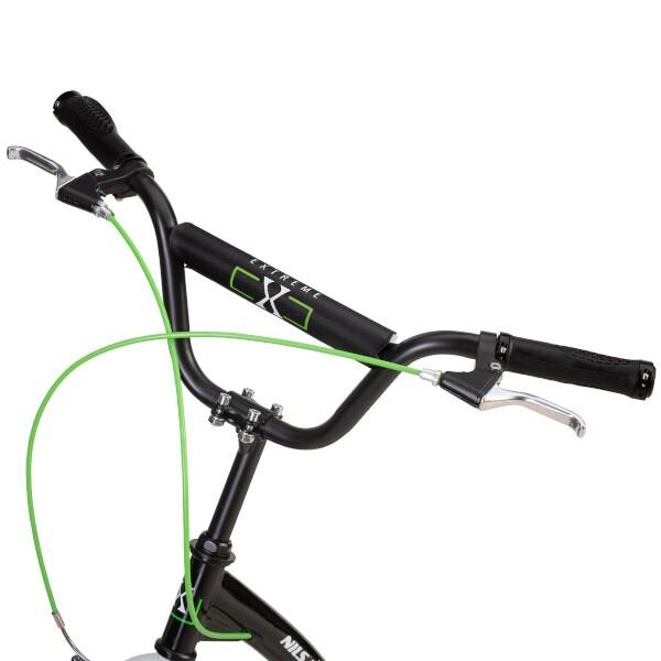 Skládací koloběžka NILS Extreme WH227F zelená